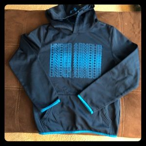 Youth Under Armour cold gear hoodie